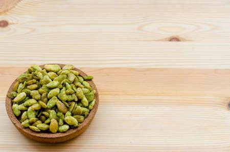 Edible seeds of hyacinth bean snack