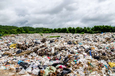 Waste landfill in Thailand, Open dumping