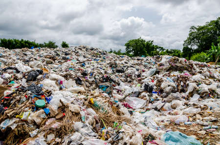 dumping: Waste landfill in Thailand, Open dumping