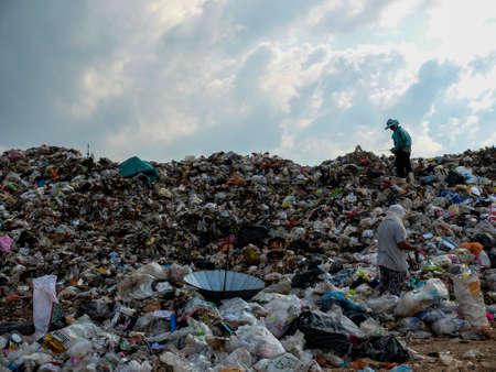 landfill site: Dump site in Thailand