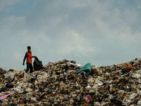 landfill site: Landfill in Thailand