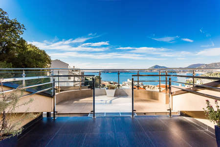 Luxury apartments with sea view and terrace