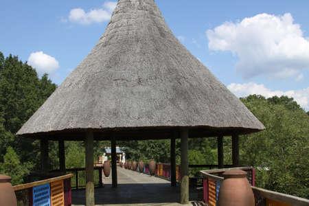 Zoo entrance Фото со стока