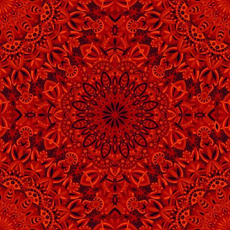 Vector tribal vintage ethnic seamless pattern for print. Mandala background. Handmade oriental ornament. Illustration