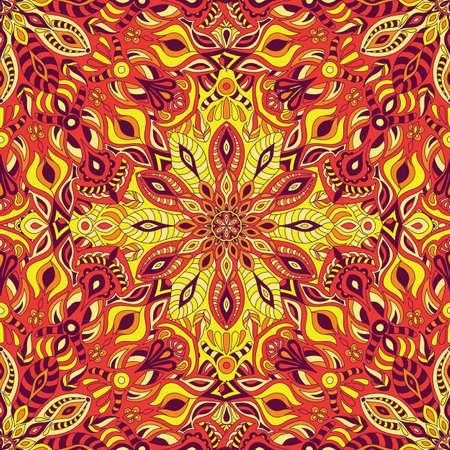 Mandala vector design for printing. Tribal ornament.