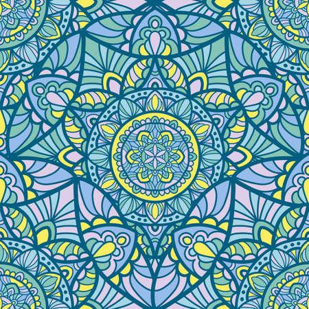 Mandala vintage design for printing. Tribal ornament. Illustration