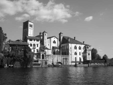 orta: lago d orta, piemonte, italy Stock Photo