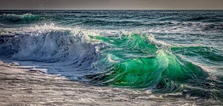 shorebreak: Shorebreak Stock Photo