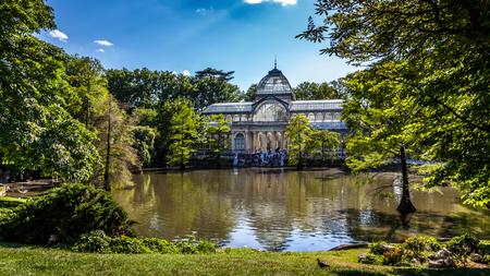 parque del buen retiro: Parque del Buen Retiro - Madrid