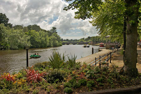 The river Dee at Chester in England