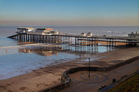 Cromer pier in Norfolk England is over 100 years old.