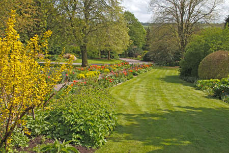 The Dorothy Clive garden in Staffordshire England. Stock Photo