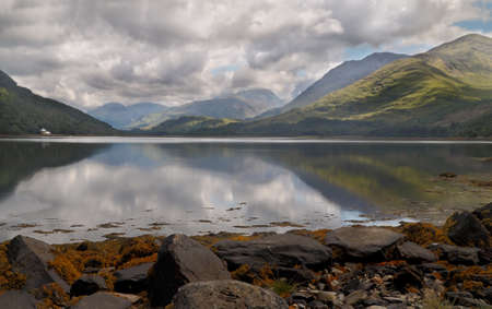 Loch Etive is a 17 mile stretch of water in Argyll and Bute, Scotland.