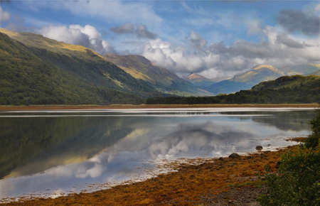 Loch Etive in Argyll and Bute, Scotland.