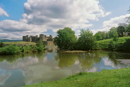 Caerphilly castle was built in the 13 century and is the largest casle in Wales.