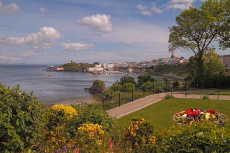 tenby wales: Tenby is an attractive seaside holiday resort in South Wales, UK.