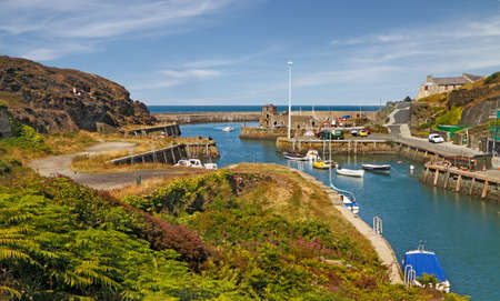 exporter: Almwch harbour on Anglesey in Wales was the worlds largest exporter of sulpher and copper about 200 years ago.