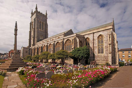 tallest: Cromer Parish Church has the tallest tower in Norfolk, England.