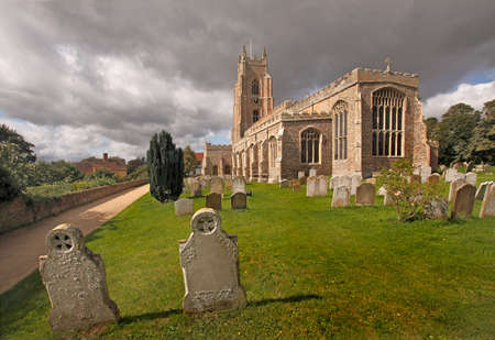 St Marys church in Stoke-by-Nayland dates from the 15th century, and was used in some of John Constables paintings to enhance the picture.