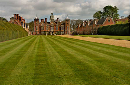 The present Blickling Hall was built in the 17th century on the site of an earlier dwelling where Anne Boleyn,  mother of Elizabeth the first  was born