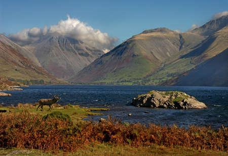 declared: Wast Water � in Cumbria Inghilterra del lago pi� profondo ed � stato dichiarato di essere in Inghilterra