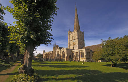 john the baptist: Burford Parish Church  is a wonderful example of church architecture and is dedicated to Saint John the Baptist.