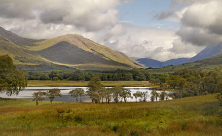 awe: Loch Awe is situated in an area of some of Scotlands most outstanding scenery. Stock Photo
