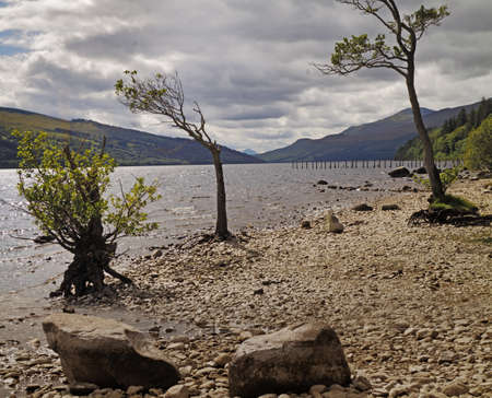 tay: Loch Tay is a freshwater lake, about 14 miles (23KM) long in the central highlands in Perthshire, Scotland.