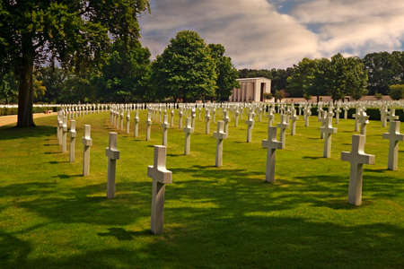 world war two: The American war cemetery near Cambridge in England has the remains of nearly four thousand heros who died in world war two.