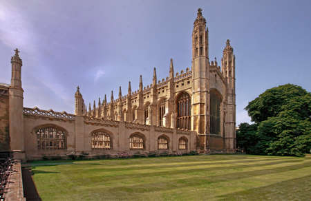 perpendicular: Kings college chapel in Cambridge, England is a fine example of English perpendicular Gothic architecture. It was founded in 1441 by King Henry VI