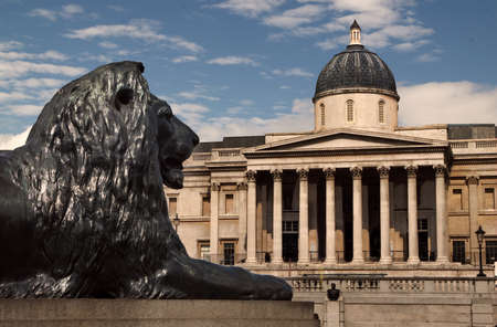 greatest: The National Gallery in Trafalgar Square, London, houses one of the greatest collections of European art.