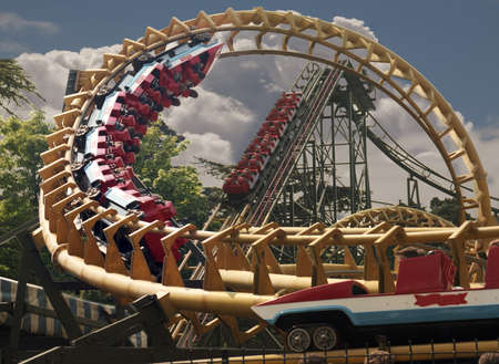 Alton Towers in Staffordshire is one of Englands best theme parks, with exciting rides and beautiful gardens