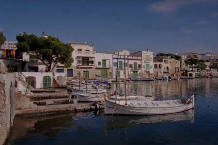colom: Porto Colom on the Spanish Island of Majorca, where it is rumoured that Christopher Columbus was born, has a large natural habour  Editorial