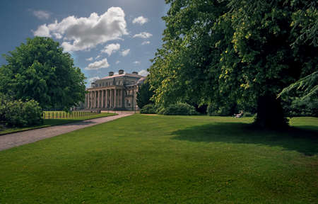Shugborough Hall in Staffordshire, England is home to the Earls of Lichfield, one of whome was a cousin of the Queen