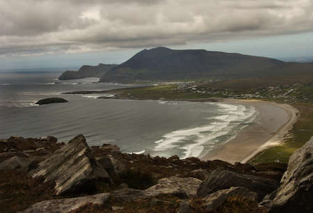 achill: Achill Island in County Mayo is the largest islnd in the Republic of Ireland.