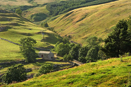 scenary: The Yorkshire Dales National Park is an area of outstanding natural beauty in England.