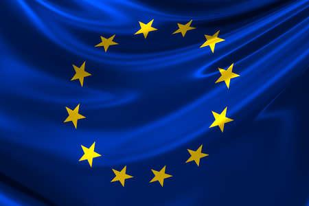 Flag of Europe. Фото со стока