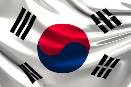 Flag of South Korea (Republic of Korea).