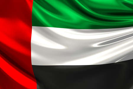 Flag of the United Arab Emirates. Фото со стока - 34292702