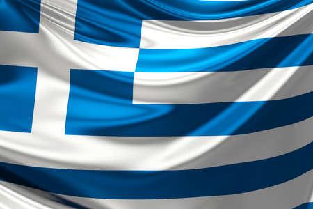 Flag of Greece. photo
