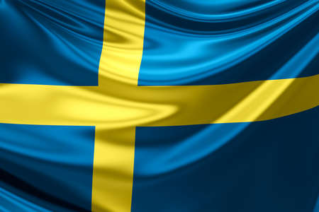 sweden flag: Flag of Sweden.