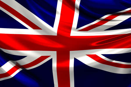 Flag of the United Kingdom of Great Britain and Northern Ireland. photo