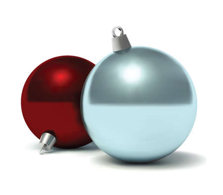 Christmas baubles. Vector illustration. Vector