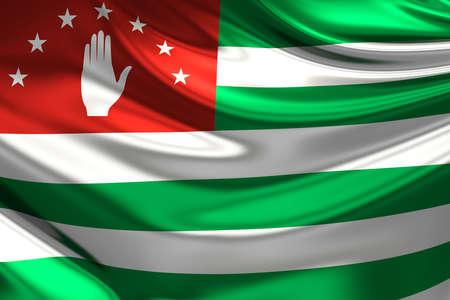 abkhazia: Flag of Abkhazia.