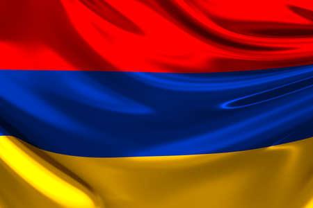 armenia: Flag of Armenia.