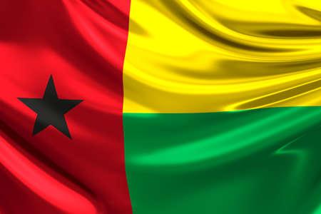 rn3d: Flag of Guinea-Bissau.