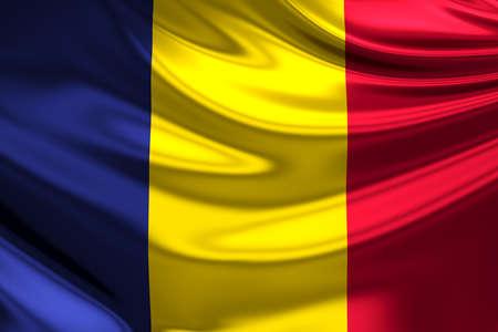 chad: Flag of Chad.