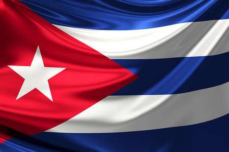 anthem: Flag of Cuba.