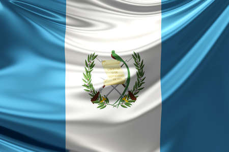 guatemala: Flag of Guatemala.