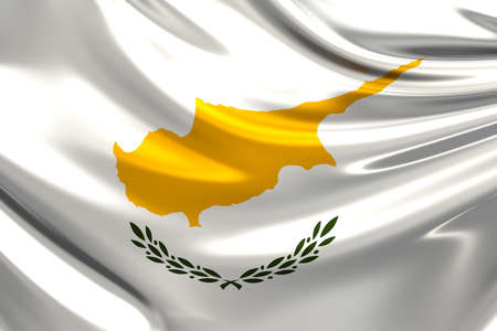 rn3d: Flag of Cyprus. Stock Photo